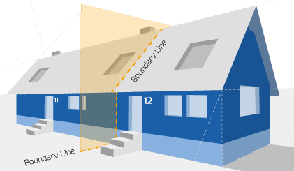 Party Wall illustration for Shrewsbury Surveyors